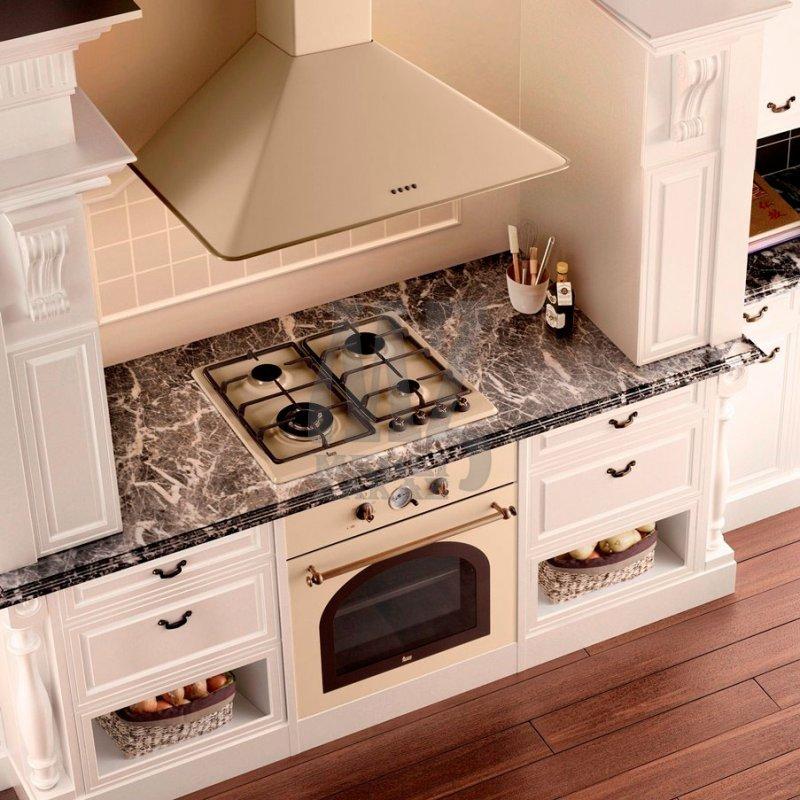 Духовой шкаф в интерьере кухни